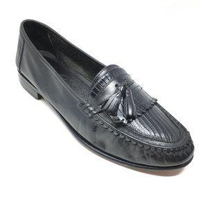 Giorgio Brutini Loafers Shoe Size 9.5 Black Lizard